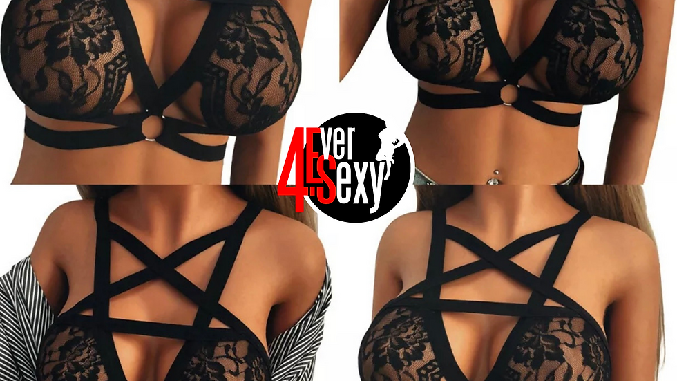 New Fashion Sexy Tops Strapped Lace Bra