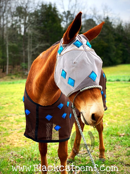 MagnaCu Fly Mask WITHOUT ears