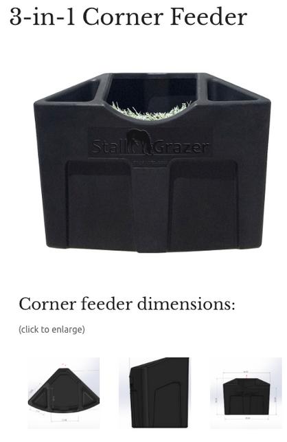 Pro Panel Corner feeder
