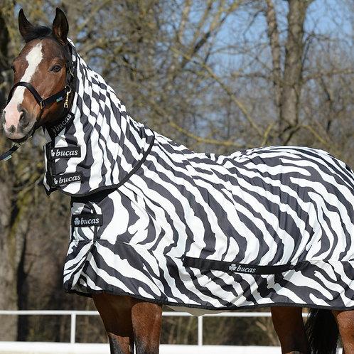 Bucas Sweet Itch Zebra Fly Sheet