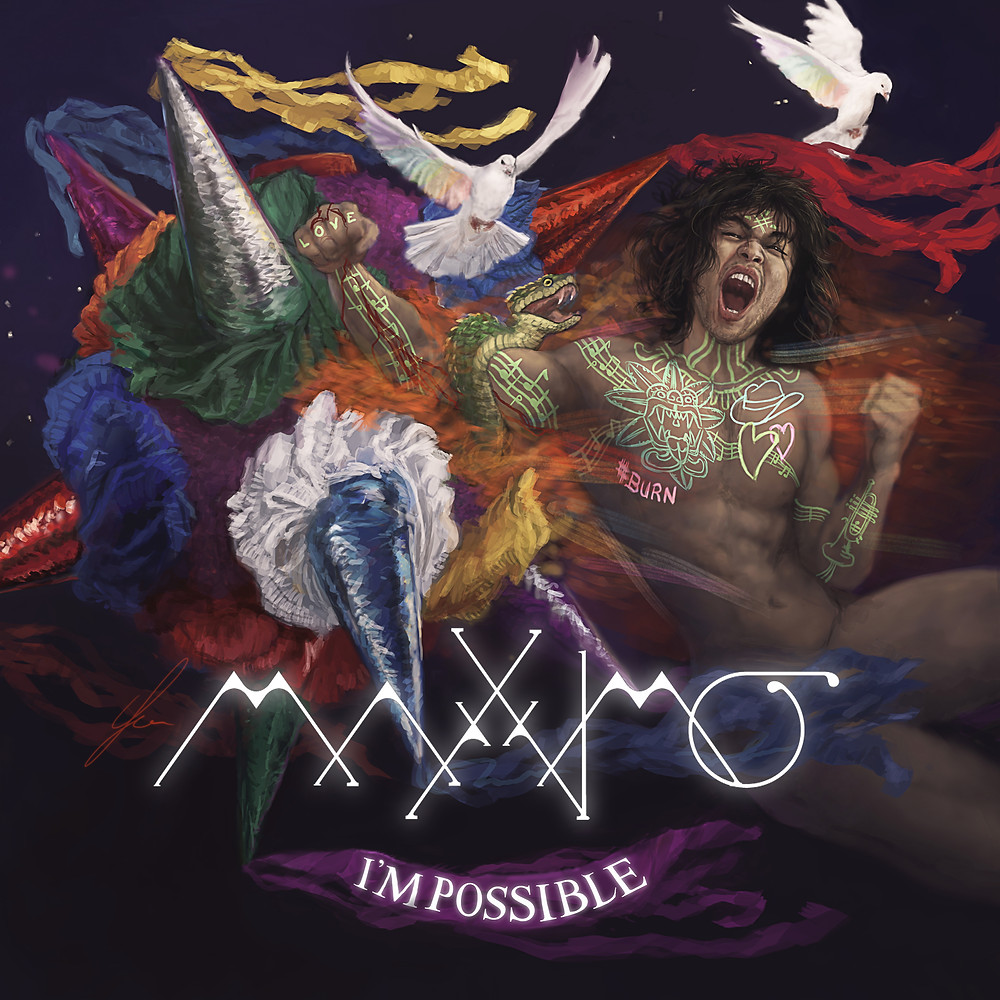 I'MPOSSIBLE ALBUM ART BY ANDREW GIBBONS