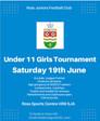 Club tournaments announced.