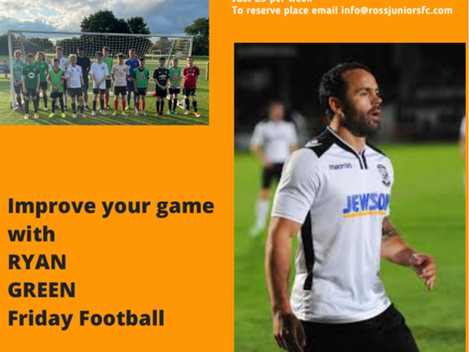 Friday football with Ryan Green