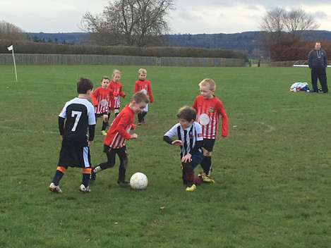 First ever game for under 6's