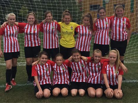 U12's girls to play Arsenal
