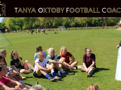 Elite Girls Football Coaching with Tanya Oxtoby