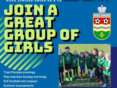U8 and U9 girls looking to add players
