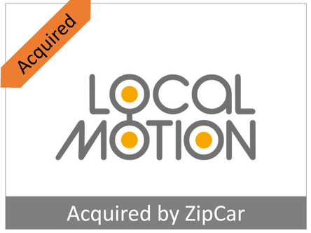 Building an intelligent networks of shareable vehicles (acq. by Zipcar)