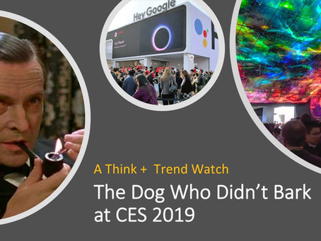 The Dog Who Didn't Bark at CES 2019