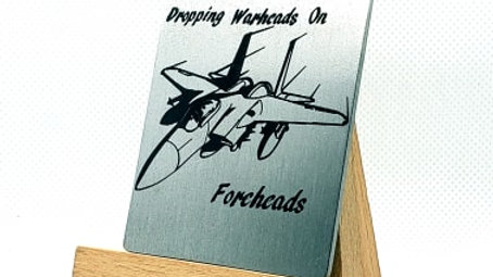 """""""Dropping Warheads on Foreheads""""(F-15 EAGLE)"""