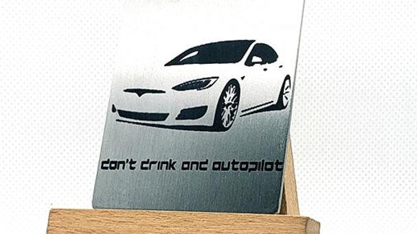 Tesla S Don't drink and autopilot
