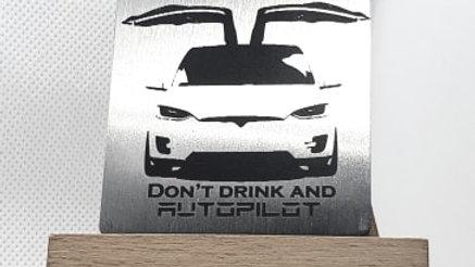 Tesla X Don't drink and autopilot