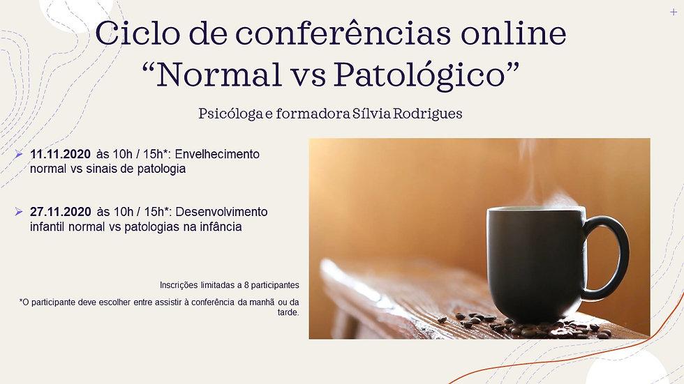 Ambas as conferências do mês de Novembro