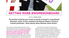 Getting More #WomenOnBoard
