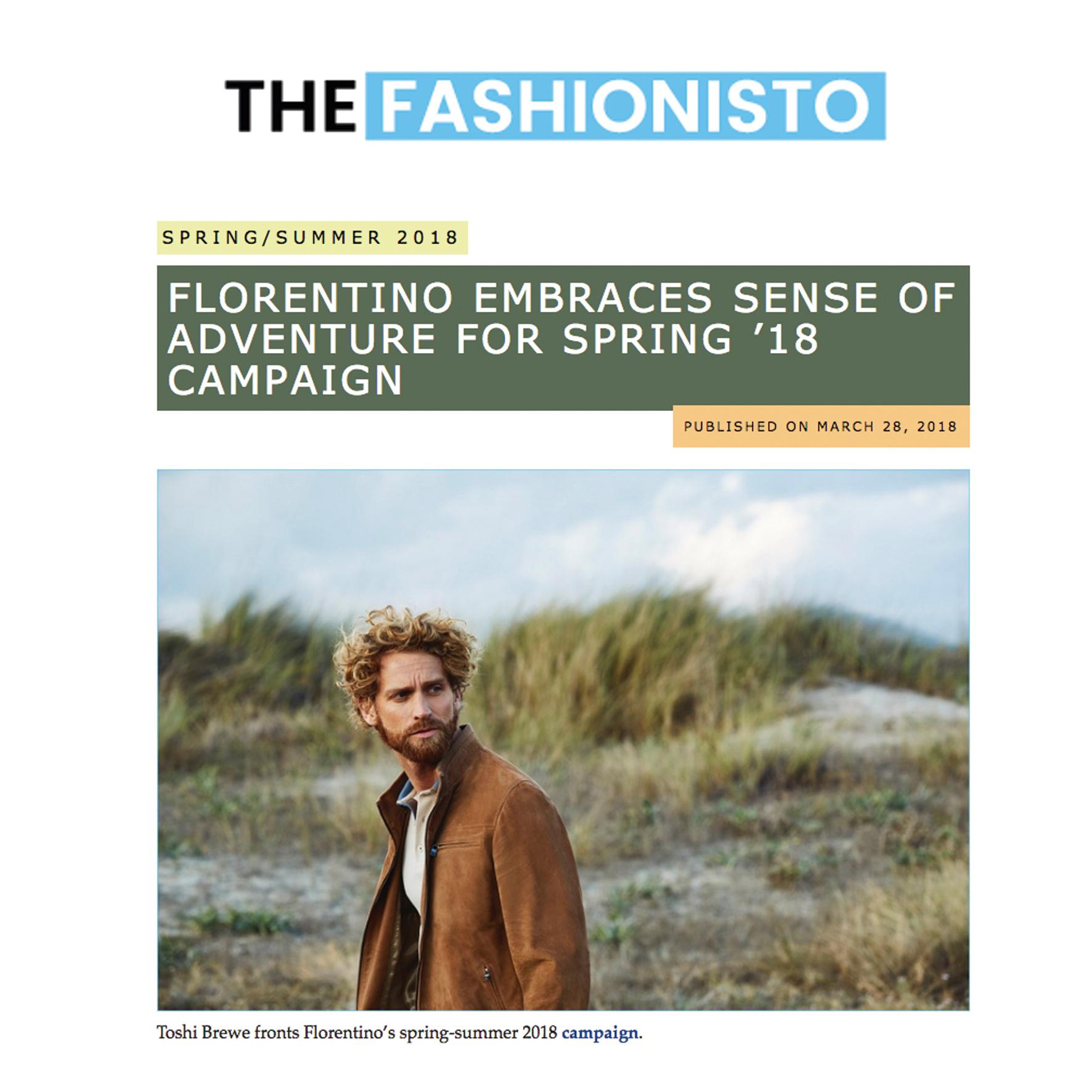 Florentino SS18 & The Fashionisto