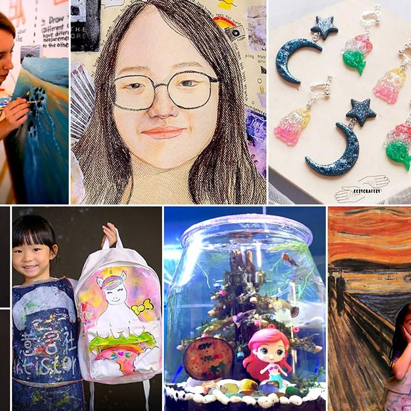 September 2021 School Holiday Art Camps & Workshops