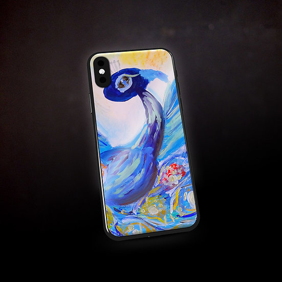 Rachel Delwyn's Peacock Phone Case