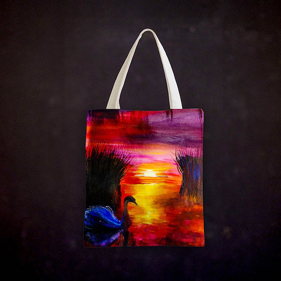 Stacey's Scenic Sunset Totebag