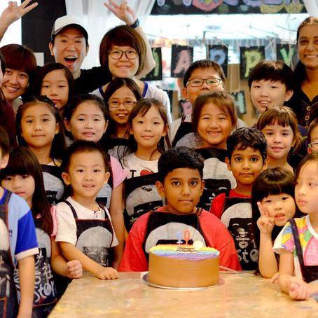 Vijay's 10th Birthday Celebration
