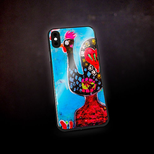 Stacey's Rooster of Barcelos Phone Case