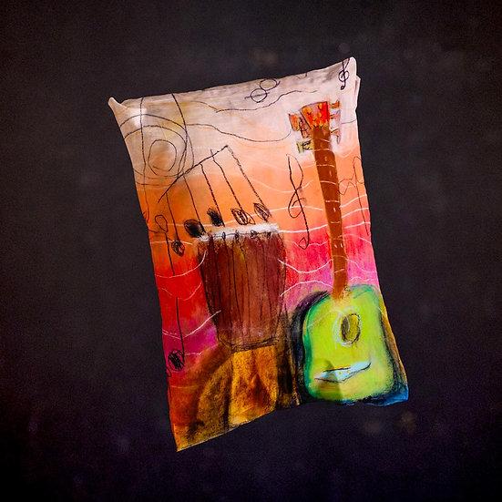 Ashleycje's Guitar Djembe Pillow