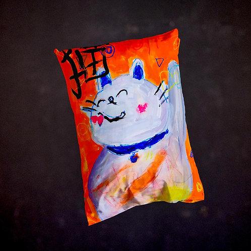 Ashleycje's Maneki Neko Pillow