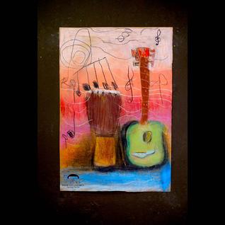 Guitar Djembe