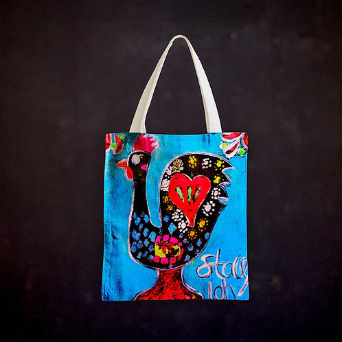 Stacey's Rooster of Barcelos Totebag
