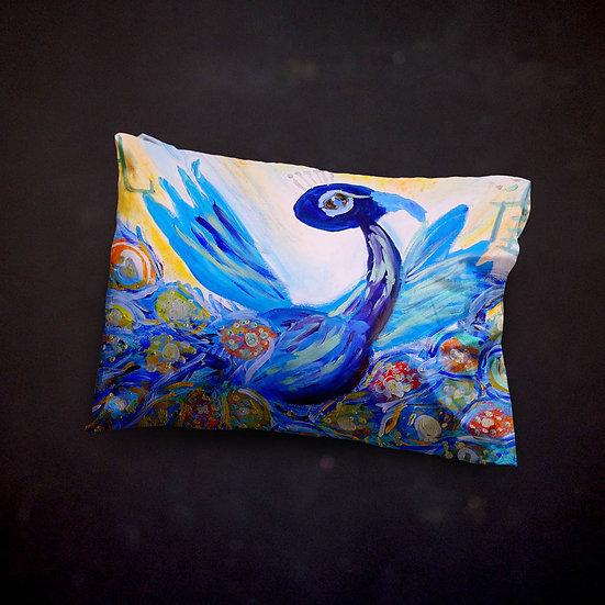 Rachel Delwyn's Peacock Pillow