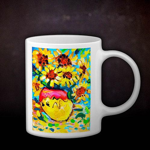 Benjaminc's Van Gogh Sunflowers Coffee Mug