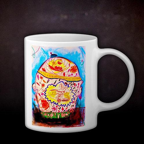 Ashleycje's Peranakan Kamcheng Coffee Mug