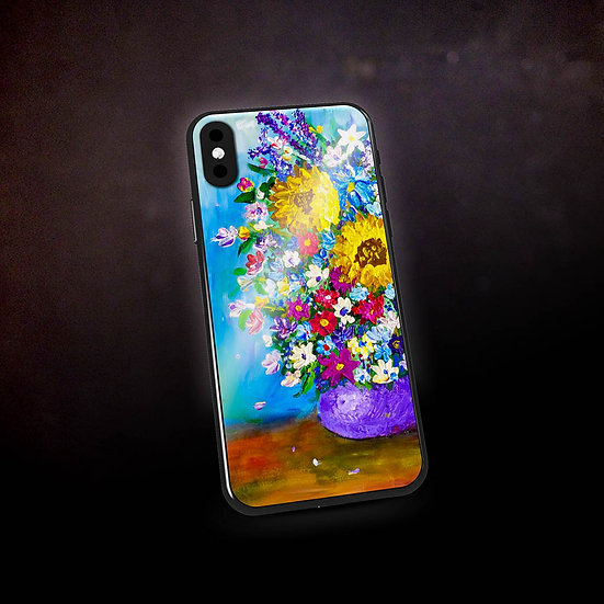Stacey's Impressionistic Flowers Phone Case