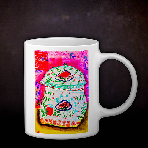 Stacey's Peranakan Kamcheng Coffee Mug