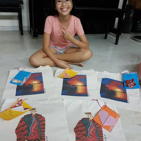 From Kid's Artworks to Printed Products