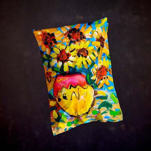 Benjaminc's Van Gogh Sunflowers Pillow