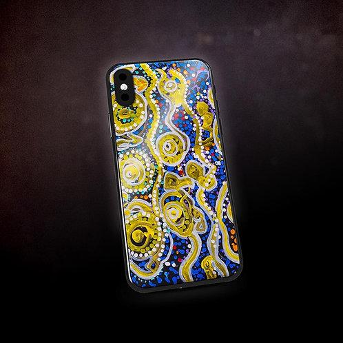 Benjaminc's Australian Dot Art Phone Case