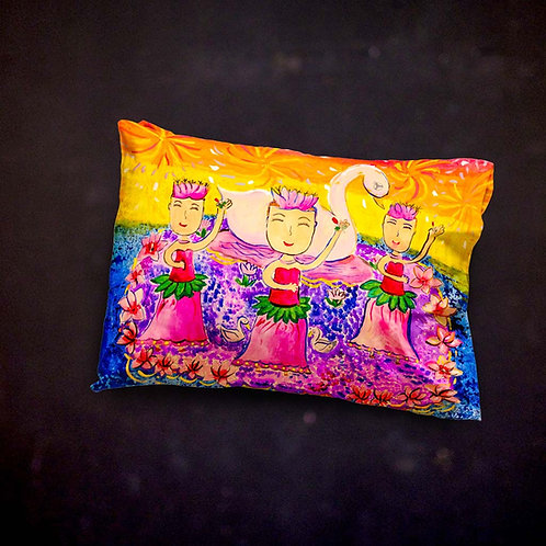 Stacey's Chingay Throw Pillow
