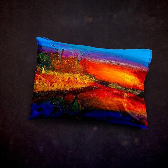 Ashleycje's Scenic Sunset Pillow