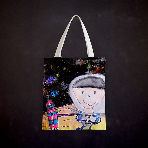 Stacey's Astronaut Totebag