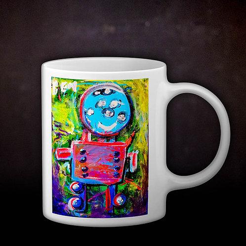 Benjaminc's Robot Coffee Mug