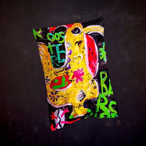 Ashleycje's Rooster of Barcelos Pillow