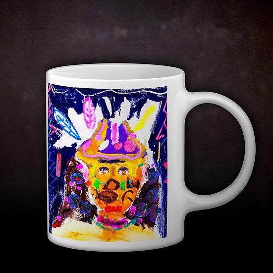 Ashleycje's Tribesman Coffee Mug