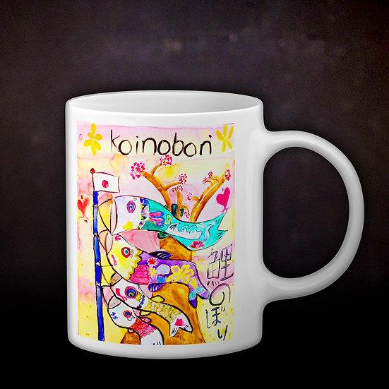 Stacey's Koinobori Coffee Mug