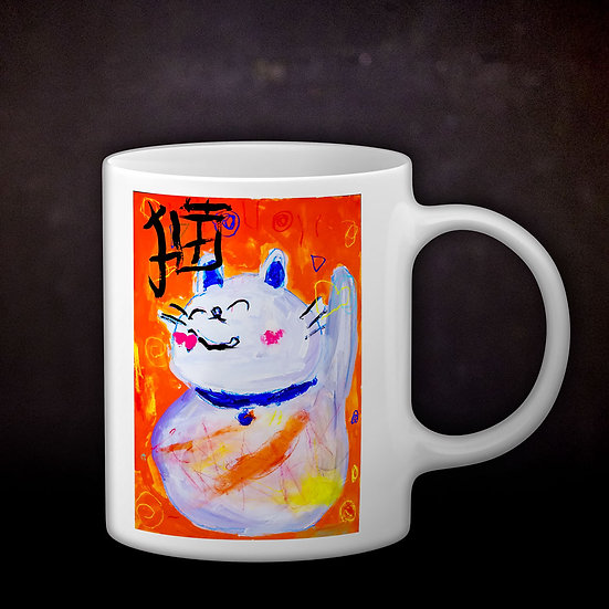 Ashleycje's Maneki Neko Coffee Mug