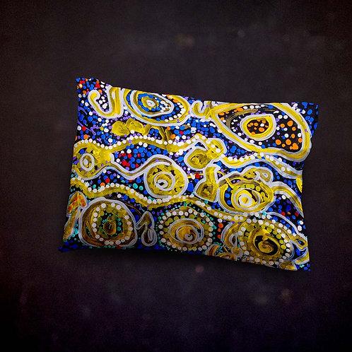 Benjaminc's Australian Dot Art Pillow