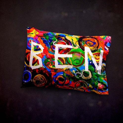 Benjaminc's Name Pillow