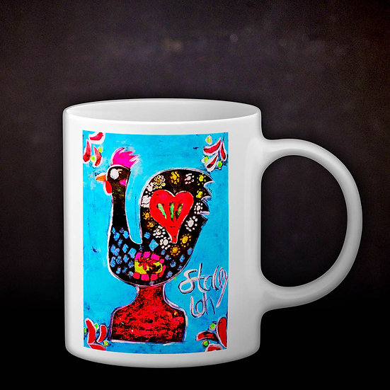 Stacey's Rooster of Barcelos Coffee Mug
