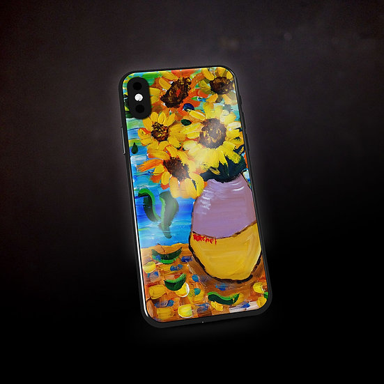 Rachel Delwyn's Van Gogh Sunflowers Phone Case