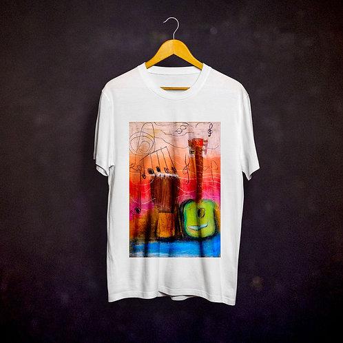 Ashleycje's Guitar Djembe T-shirt