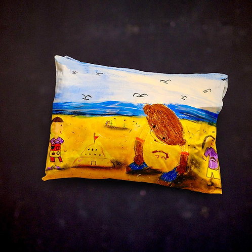 Stacey's Teddy Throw Pillow